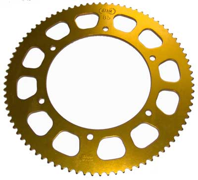 Afam aluminium Kart rear sprocket 100 cc 75 tooth