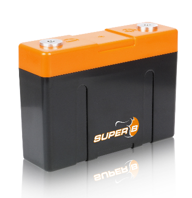 Super B Lithium battery model Andrena 12V 2.5Ah, 13.2 V