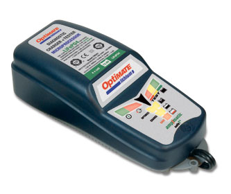 Optimate acculader voor Super B en Lithium accu's