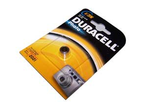 Duracell battery coin cell for Sniper V2