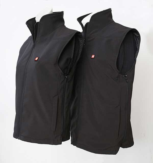 Heated body warmer - vest WarmMe size S/M incl. battery