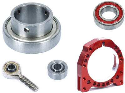 Bearings & housing