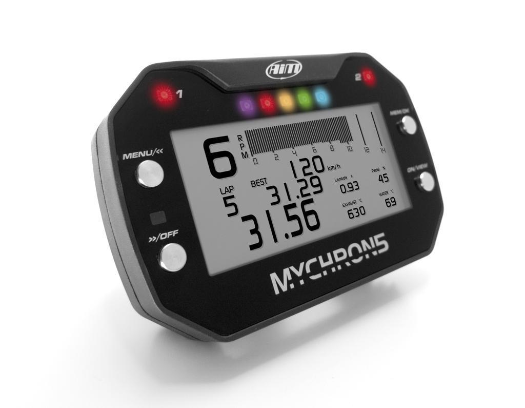 AIM MyChron 5 Kart GPS laptimer basis kit