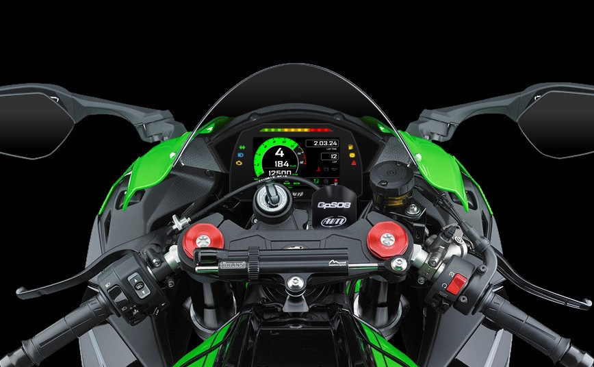 AIM Plug&Play dashboard Kawasaki ZX10R 16-19