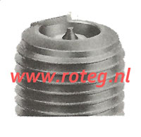 Spark plug NGK R7282A 10.5/11, long thread for deto sensor