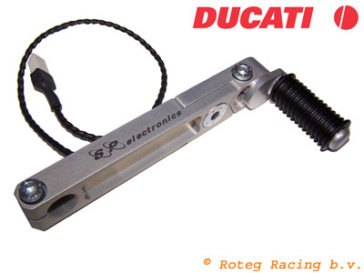 SP Quickshifter pedal with sensor for Ducati