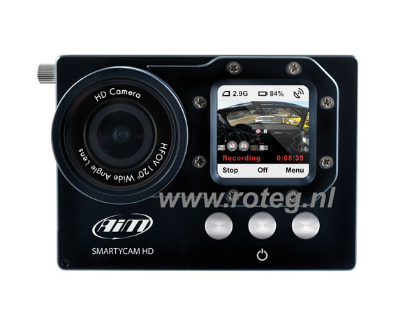 AIM SmartyCam HD Rev2 video camera met data overlay