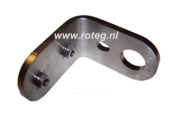 Mounting bracket for test bench roller speed sensor