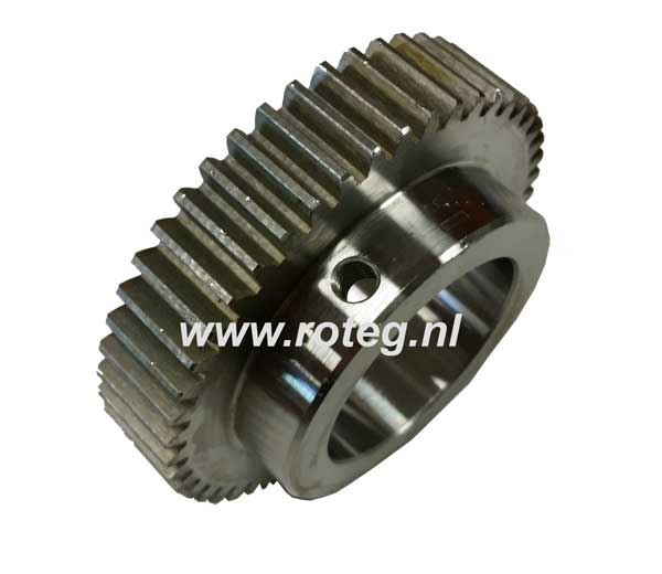 60 teeth gear wheel 40 mm for test bench roller speed sensor