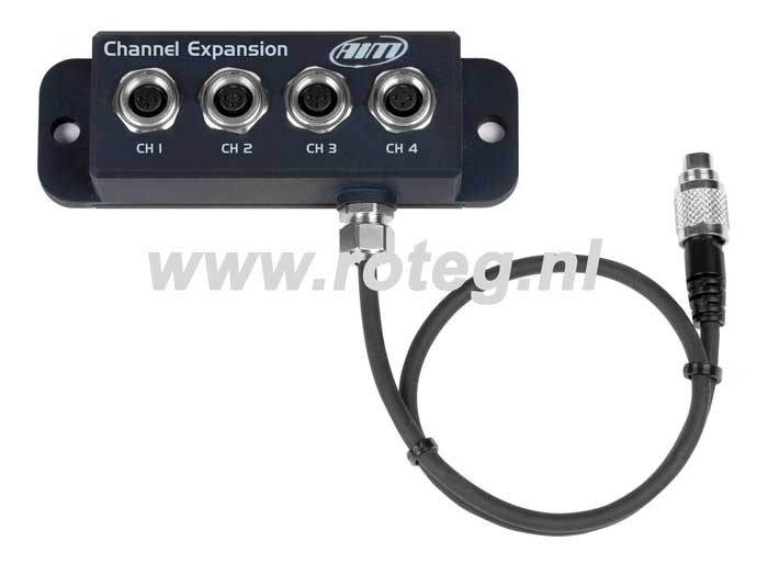 AIM channel expansion for AIM MXL/Evo3/Evo4 datalogger