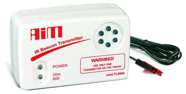 AIM Infrared laptime transmitter for AIM infrared receivers