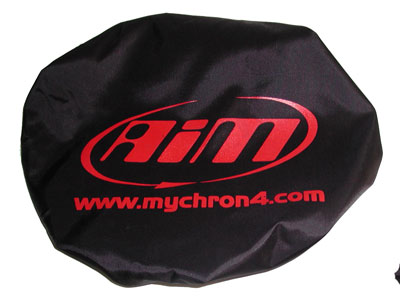 Protection cover for AIM My-Chron 4 steering wheel