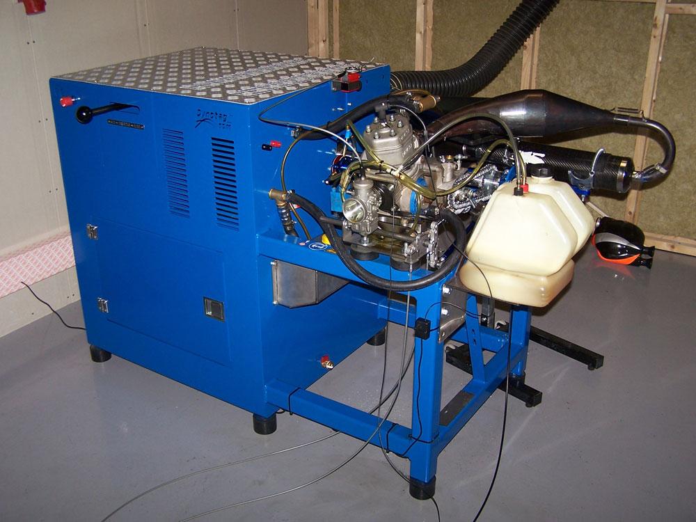 Dynoteg Kart Engine Dyno Ked Ec Pro With Eddy Current