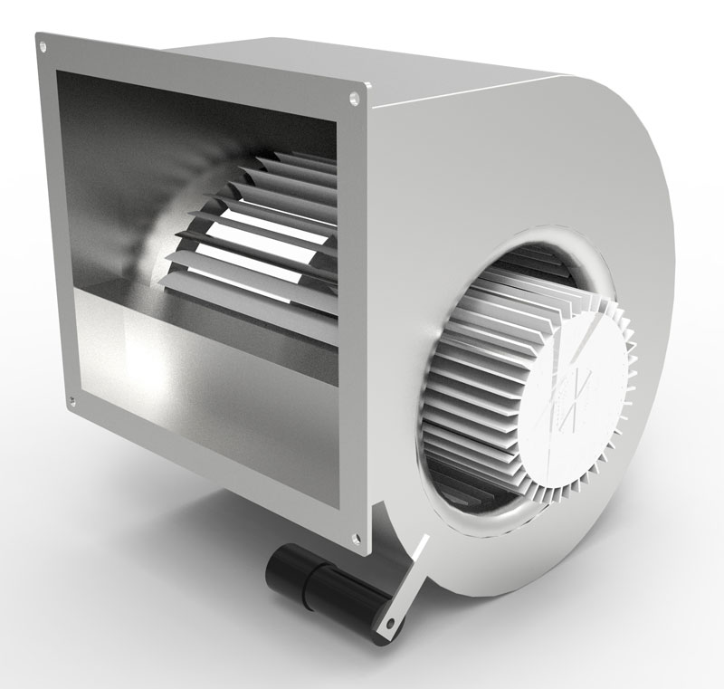 Fan 7000 m3/h, 230 V, for small dyno room