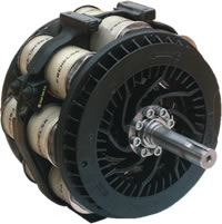 Different types of eddy current brakes