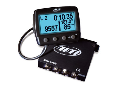 AIM TG Log datalogger with backlight