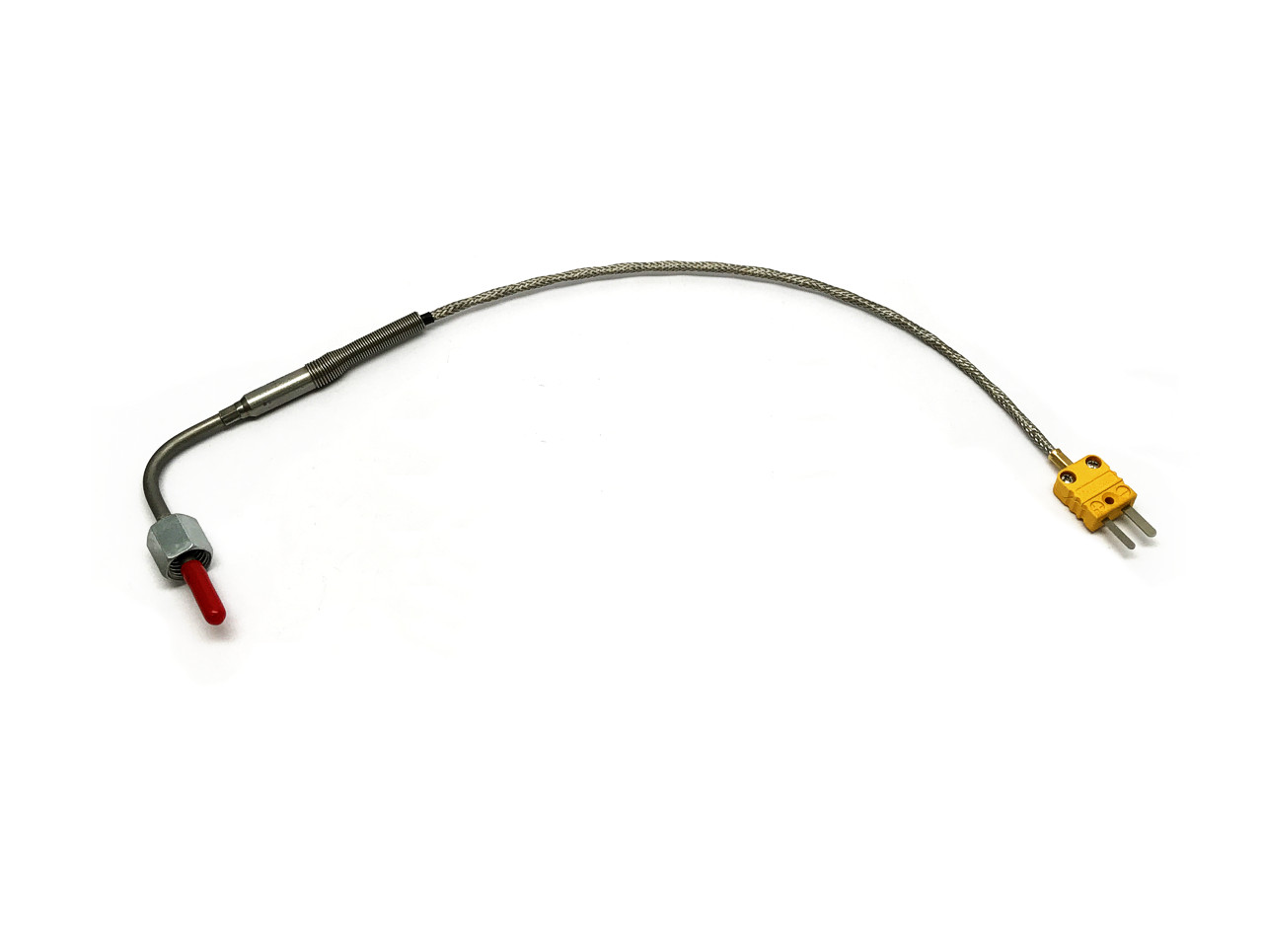 Exhaust gas temperature sensor with M12 nut, KF Homologation