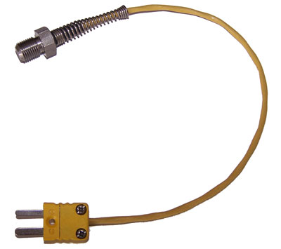 Watertemperatuursensor M10 thermokoppel 2-pins connector