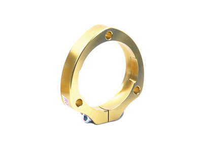 Housing for axle bearing 30 mm Gold anodized
