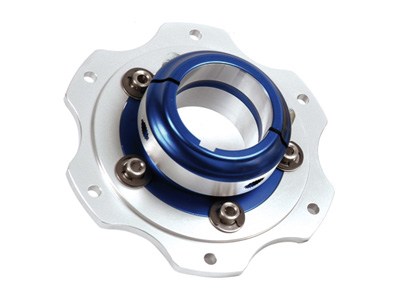 Wildkart kart floating sprocket carrier 50 mm anodized