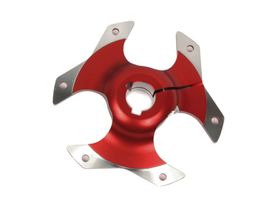 Sprocket carrier 25 mm Racing anodized