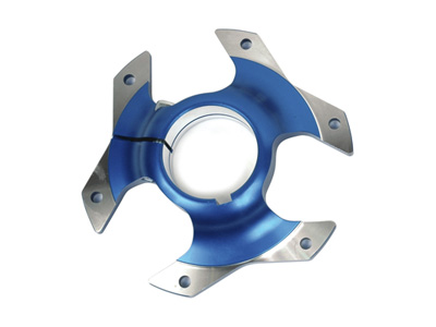 Sprocket carrier Racing 50 mm anodized